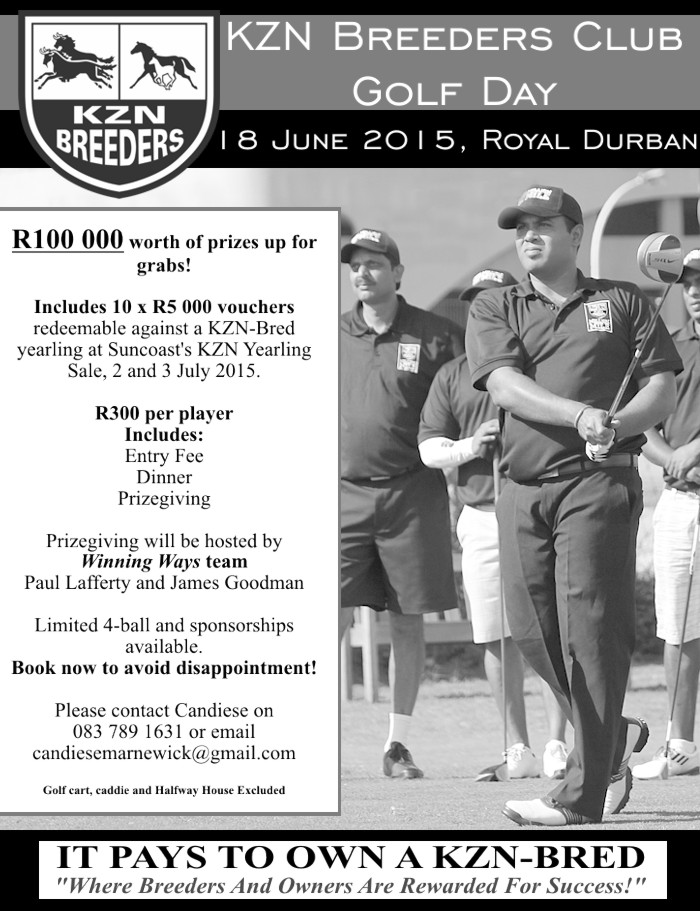 KZN Breeders Golf Day - 18 June 2015