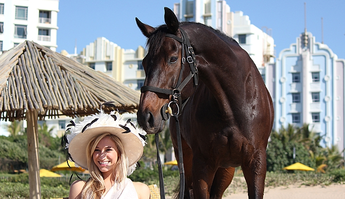 Chloe and Winter Wizard at Suncoast. Photo: Candiese Marnewick