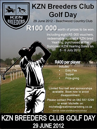 KZN Breeders' Golf Day, 29 June</i>