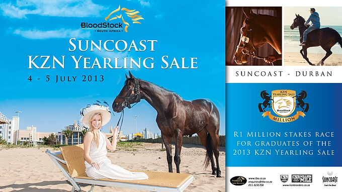 2013 Suncoast KZN Yearling Sale App Available