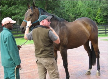 Grooms Course with Adrian Todd